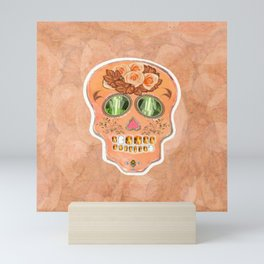 Hit Pink Rajah Mini Art Print