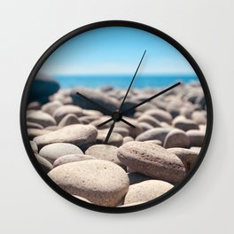 Tropic Pebbles Wall Clock