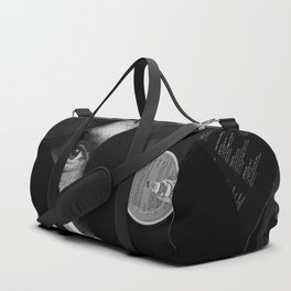 Long-playing Records and Covers in Black and White - Good Memories #decor #society6 #buyart Duffle Bag
