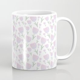 Tulips - pink and ultra violet Coffee Mug
