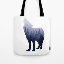 Wolf Forest Tote Bag