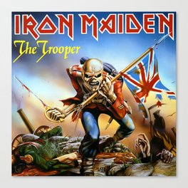 IRON MAIDEN - THE TROOPER Canvas Print