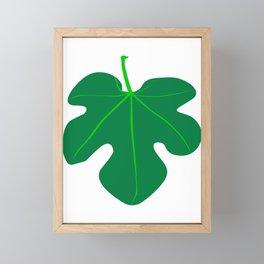 Fig Leaf Framed Mini Art Print