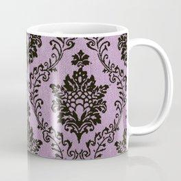 Pink Damask pattern,chic,elegant,great Gatsby,belle epoque,trending,fan pattern,victorian,modern pa Coffee Mug
