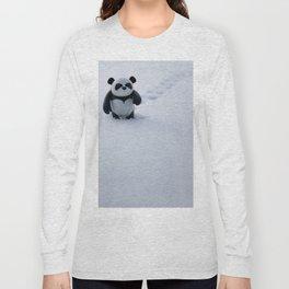 Zeke the Zen Panda Long Sleeve T-shirt