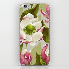 magnolia bloom - daytime version iPhone Skin