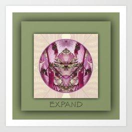 Expand Manifestation Mandala No. 8 Art Print