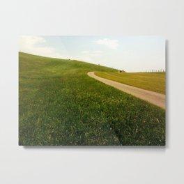 Bavarian Path Metal Print
