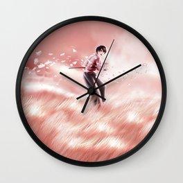 sunset duel Wall Clock