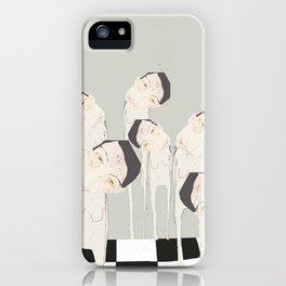 « les tout-nus ll » iPhone Case