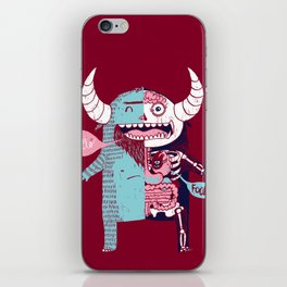 All Monsters are the Same iPhone Skin
