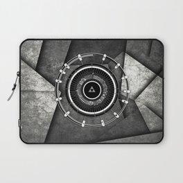 Zelda Triforce Circle Laptop Sleeve