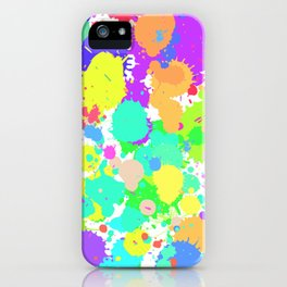 Splattt iPhone Case