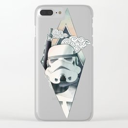 Graphic Storm!@#$#er Illustration Clear iPhone Case