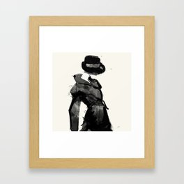 Form Framed Art Print