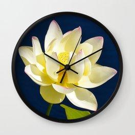 Lotus Flower by Teresa Thompson Wall Clock