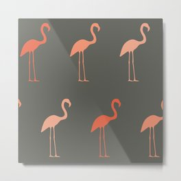 Pretty Flamingo Metal Print