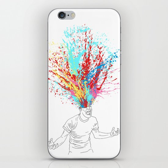 Scream Redux iPhone & iPod Skin