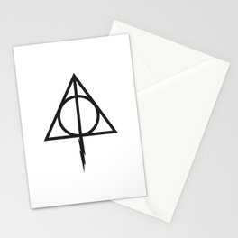 Deathly hollow Stationery Cards