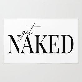 get naked II Rug