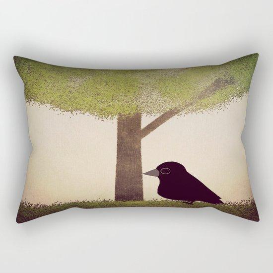 Crow-196 Rectangular Pillow