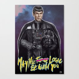 May the logic be with you Canvas Print