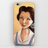 belle iPhone & iPod Skins featuring Belle by Sam Pea