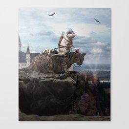 The Dragon Hunter Canvas Print