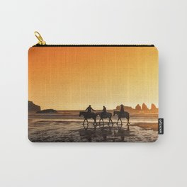 Sunset On Horseback Carry-All Pouch