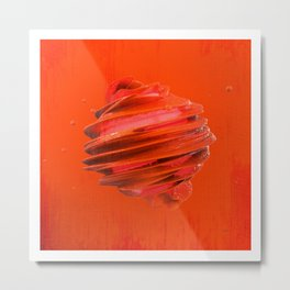 SPHeRe GLoP | RGB | RED Metal Print