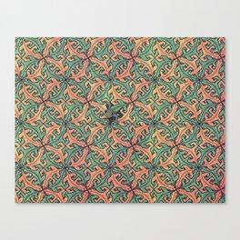 Escape Pattern Canvas Print