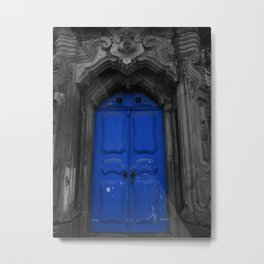 Door to nowhere Metal Print