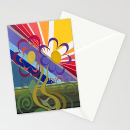Flower Horizon Stationery Cards