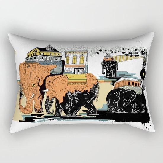 Oiliphants Rectangular Pillow