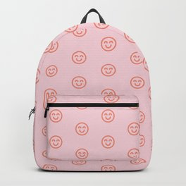Pink smilies Backpack