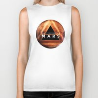30 seconds to mars Biker Tanks featuring 30 Seconds to Mars by AshThePixster