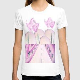 Portrait Landscaped #4 T-shirt