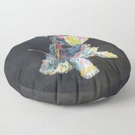 Miniature Schnauzer Floor Pillow