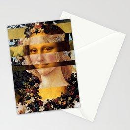 Leonardo's Mona Lisa & Botticelli's Flora Stationery Cards