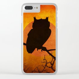Halloween Is Coming Clear iPhone Case