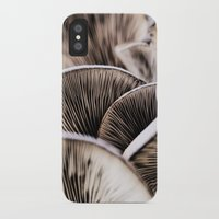 mushrooms iPhone & iPod Cases featuring Mushrooms by Kathy Dewar