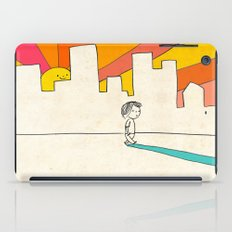 if i had eyes at the back of my head, i wouldn't have to miss the sunset on my way home iPad Case