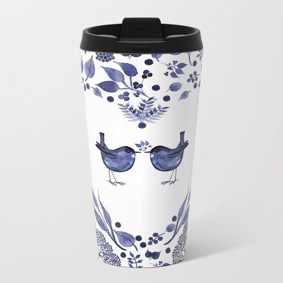 THE GIFT - INDIGO Metal Travel Mug