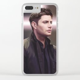 Dean Winchester. Believer Clear iPhone Case