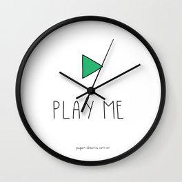 Play Me Wall Clock