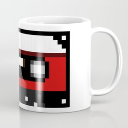 Red Cassette Coffee Mug