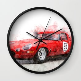 E-Type Lightweight Wall Clock