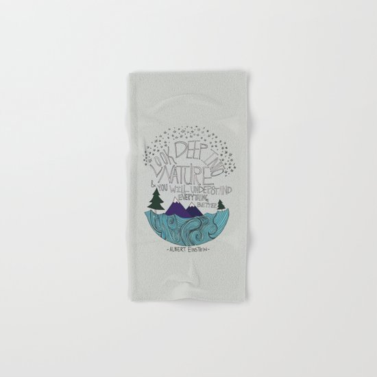 Nature Hand & Bath Towel