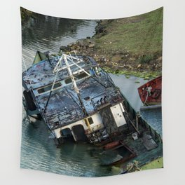Submerged in Color Wall Tapestry
