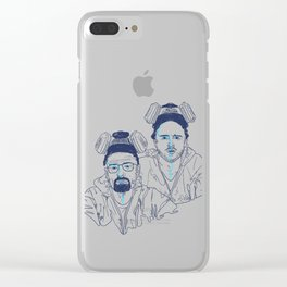 WALTER & JESSE Clear iPhone Case